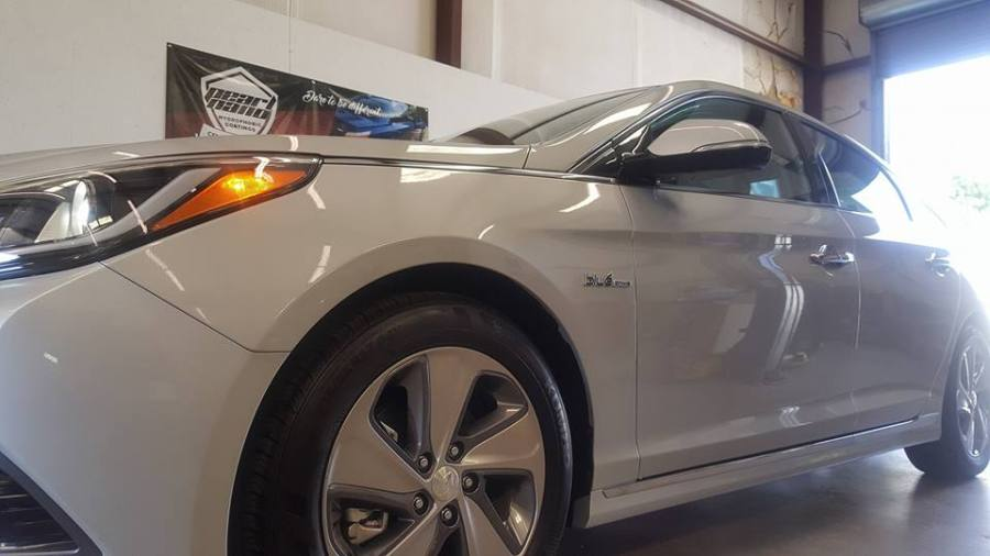 Pearl Nano Coatings – Hyundai Sonata Hybrid Coated by NVUS Detailing