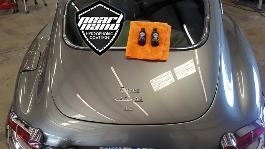 Pearl Nano Installers –  ‎Joshua Young Get Coated this 67 Jaguar E-type Detail by NVUS Detailing