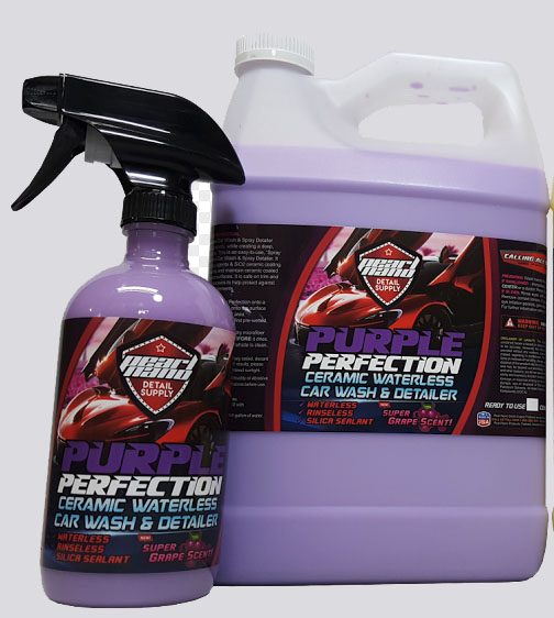 Pearl Nano Purple Perfection Ceramic Ready To Use Waterless Car Wash